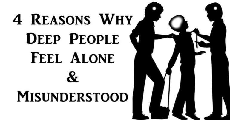 Deep People Feel Alone