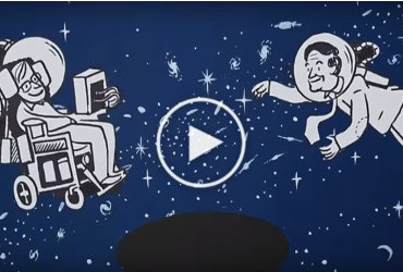 Stephen Hawking's big ideas... made simple-button