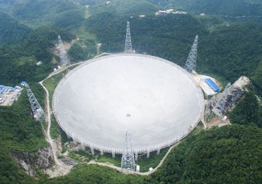 World's Largest Radio Telescope Completes Installation
