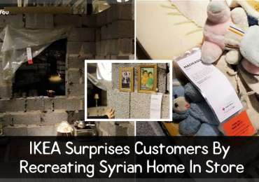 IKEA Surprises Customers By Recreating Syrian Home In Store