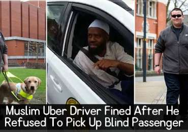 Muslim Uber Driver Fined After He Refused To Pick Up Blind Passenger