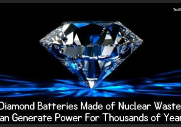 Diamond Batteries Made of Nuclear Waste Can Generate Power For Thousands of Years