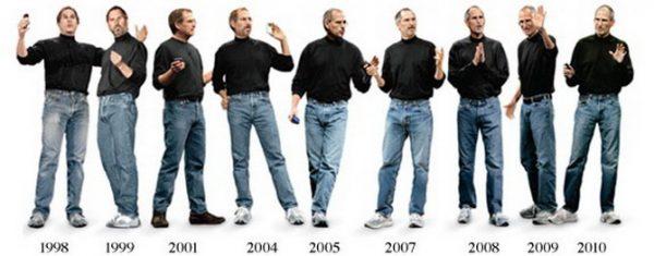 Steve Jobs Wears Same Clothes