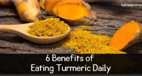 6 Benefits of Eating Turmeric Daily