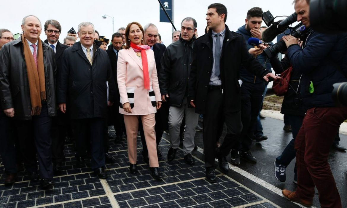 First Solar Road