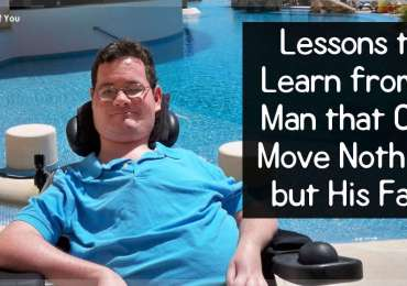 Lessons to Learn from a Man that Can Move Nothing but His Face