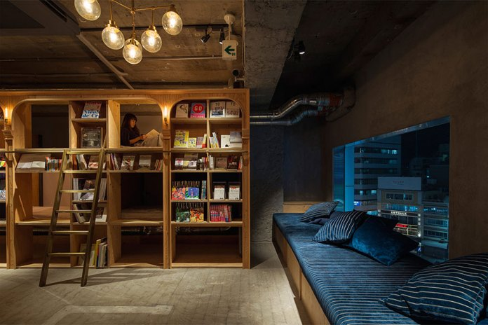 Want to Sleep in a Library Try a Book and Bed Hostel! (4)