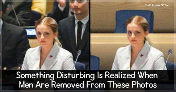 Something Disturbing Is Realized When Men Are Removed From These Photos