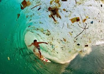 Wave Full Of Trash