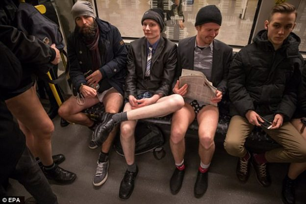 No pants Subway Ride-12