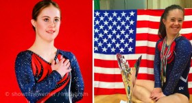 Chelsea Werner The Girl with Down's Syndrome Who Became a Two-Time Champion in Gymnastics
