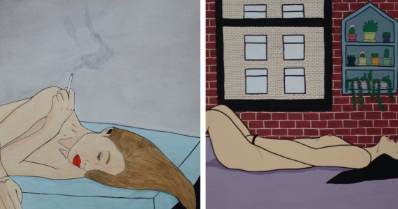 18 Sensual Illustrations That Show What Women Are Really Like When They're Alone