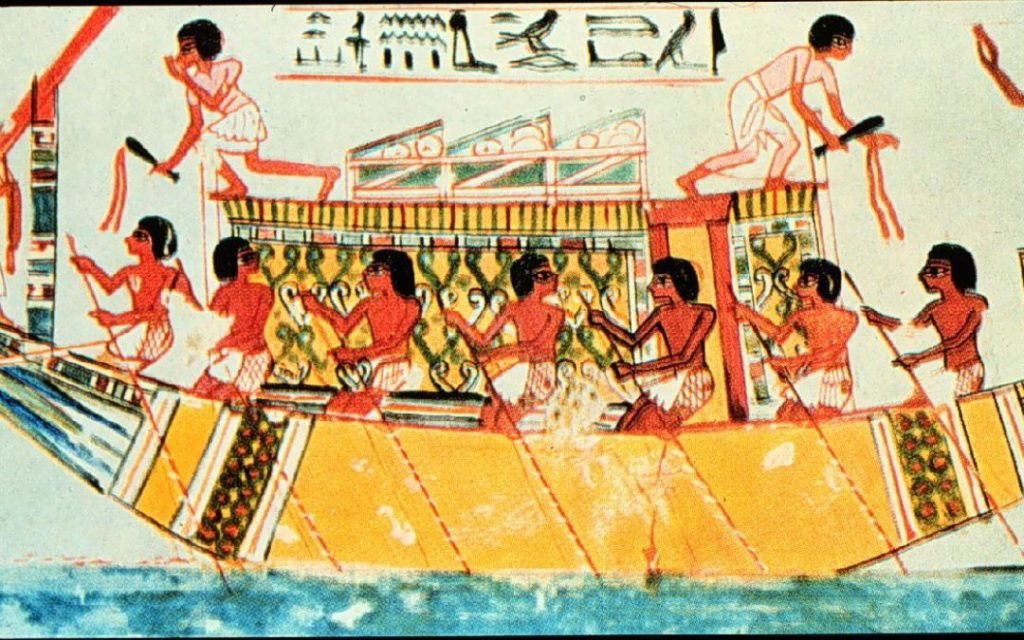 Egypt-Tomb-Oarboat