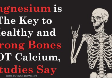 Magnesium is The Key to Healthy and Strong Bones NOT Calcium, Studies Say