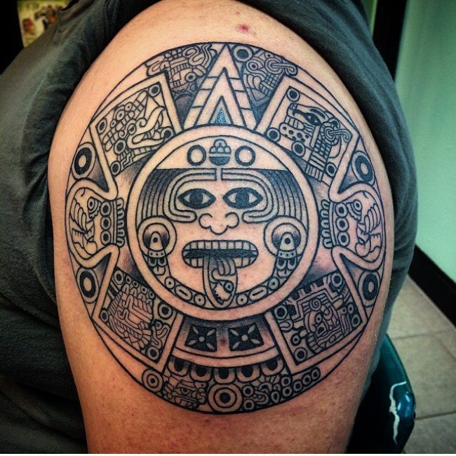 Mayan-Tattoo