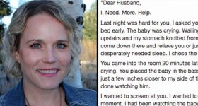 Mom's Post Desperately Asking Husband To Help With Their Kids Goes Viral