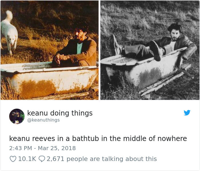 We Couldn't Stop Laughing When We Saw These 26 Hilarious Pictures Of Keanu Reeves (14)