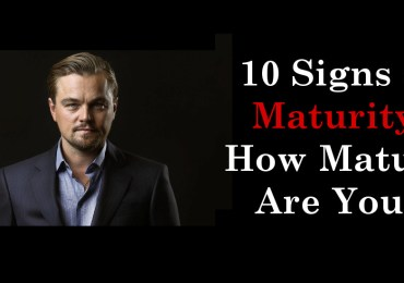 10 Signs of Maturity