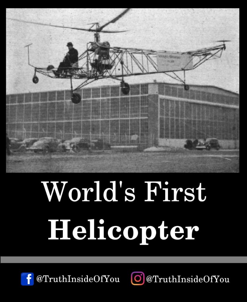 11. World's First Helicopter