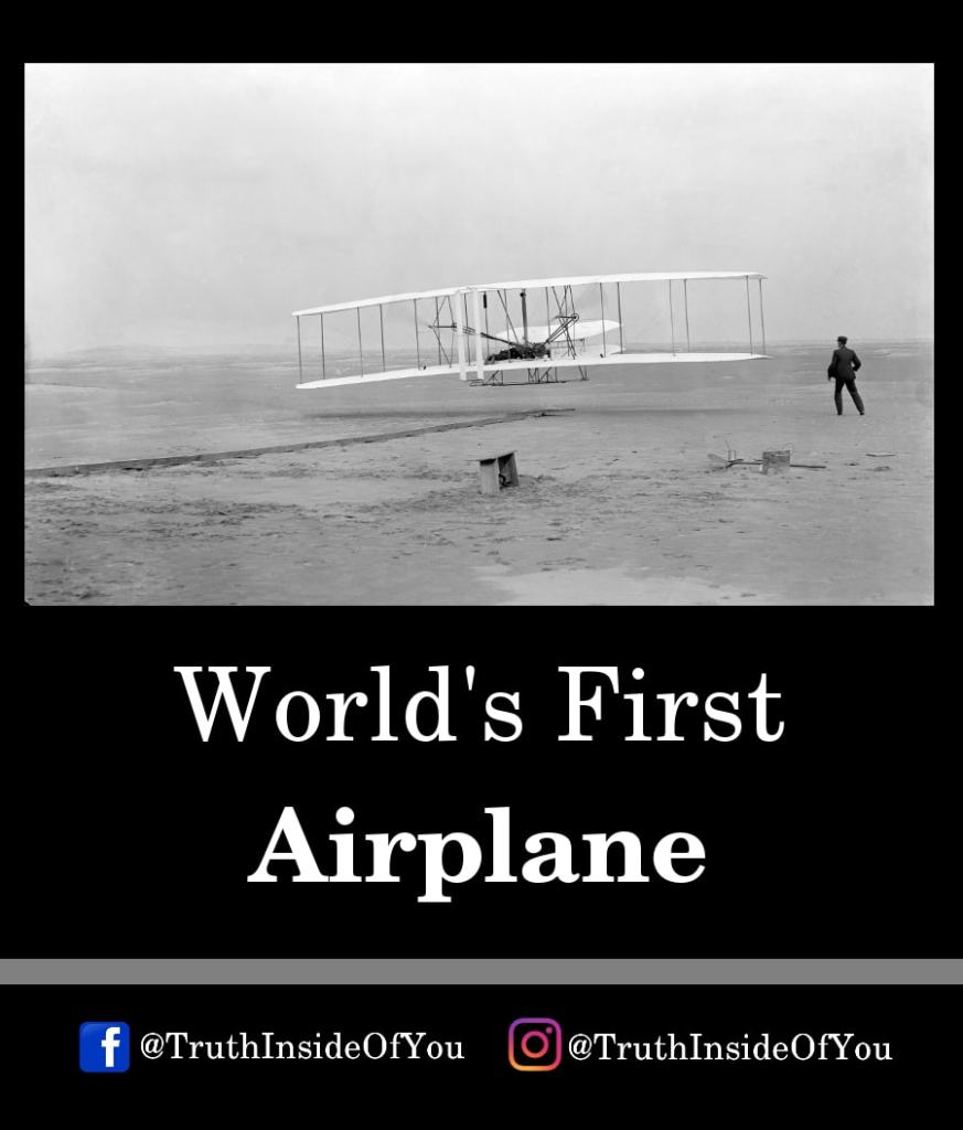 2. World's First Airplane