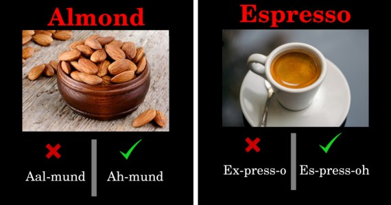 Common Food Terms You Have Been Pronouncing Wrong All This Time