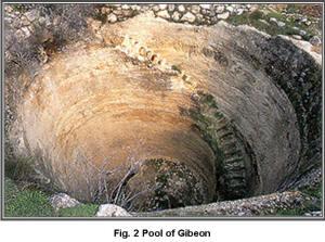 Bilderesultat for pool of gibeon