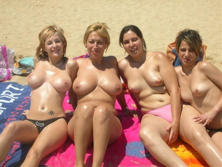 Naked Girls On The Beach