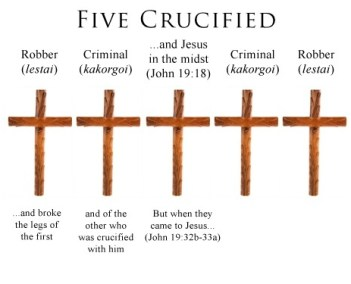 Image result for crucifixion jesus four with
