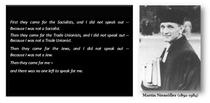 Image result for Martin Niemöller