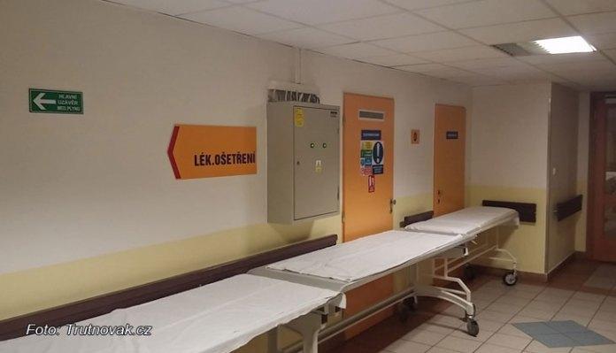 Opilý nahý muž v nemocnici trutnov