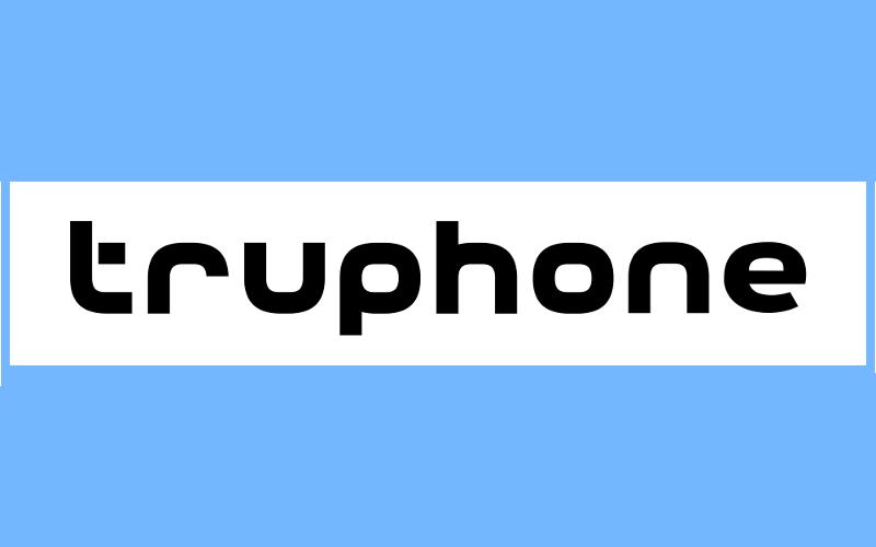 Truphone logo, International Global GSM SIM, Tru Voice Over IP App
