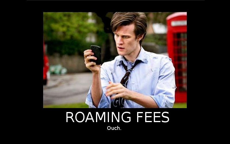 Roaming Fees, International Calls, Global Charges
