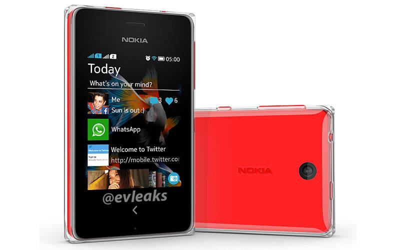 WhatsApp Messenger, Nokia Asha 500, Asha feature phones