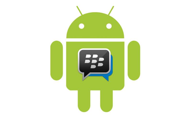 BBM, BlackBerry Messenger, Android