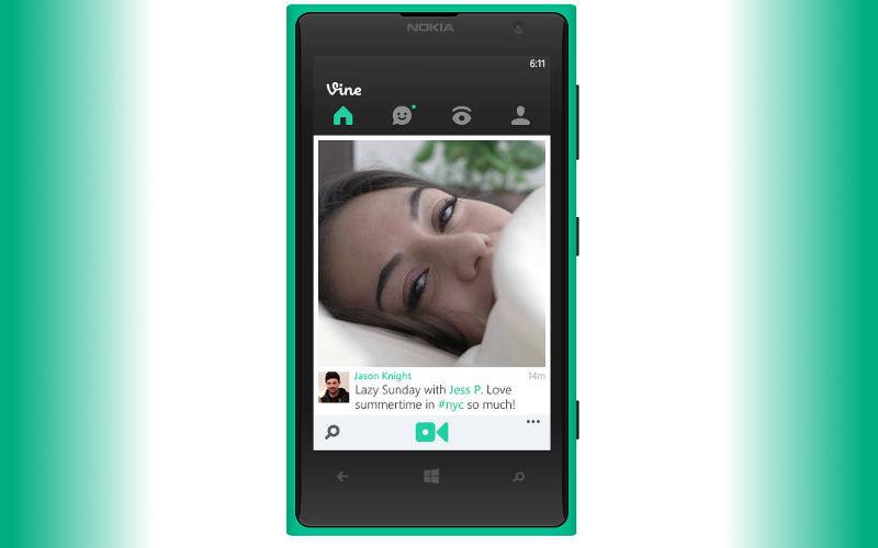 Vine, Vine for WP8, Windows Phone 8 video