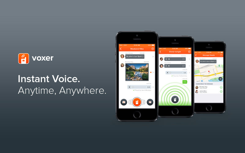 Voxer, Walkie-Talkie app, push-to-talk software
