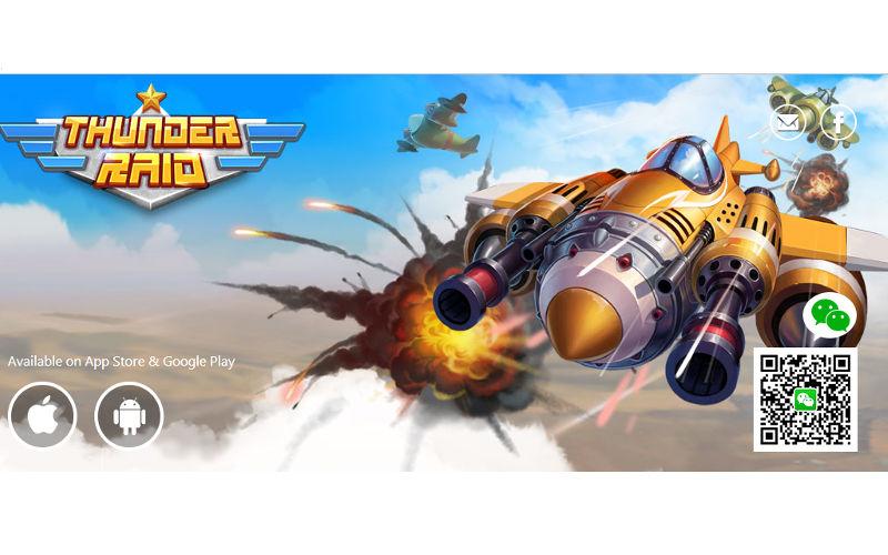 WeChat, WeChat Thunder Raid, Weixin games