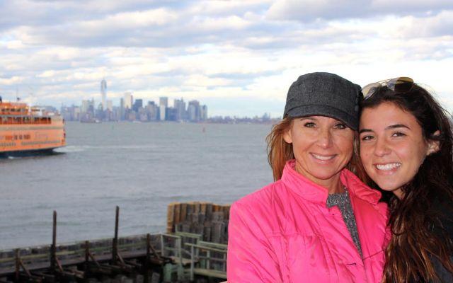 Karen Shatafian, pictured left, with her daughter
