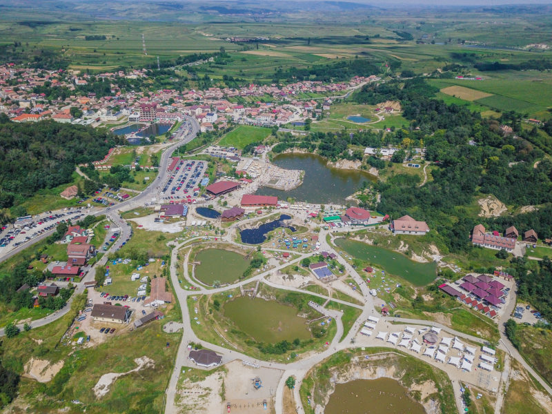 Salt lakes in Sibiu, Romania Ocna Sibiului – A healing experience for body and mind