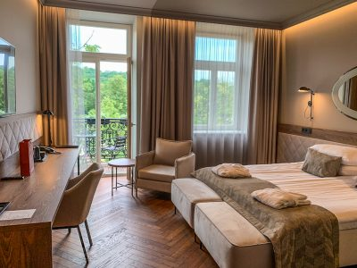 Excellent, centrally located hotel in Vilnius, Lithuania