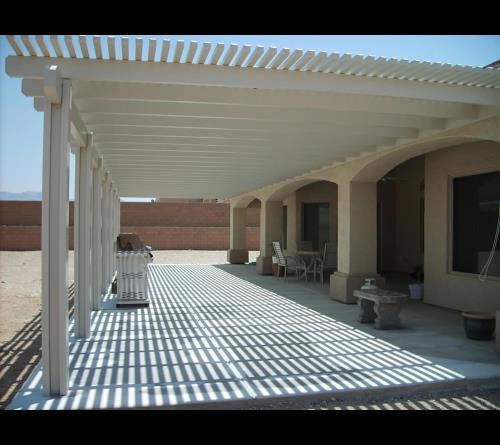 alumawood diy pergola lattice patio