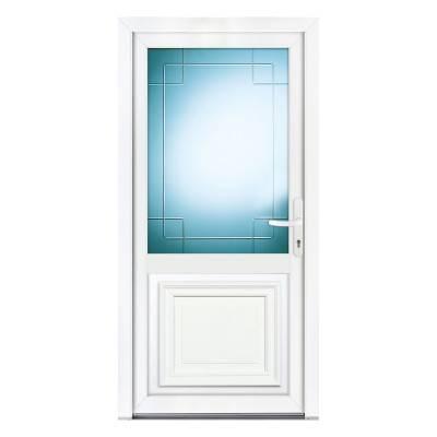 tryba porte d entree pvc isolation