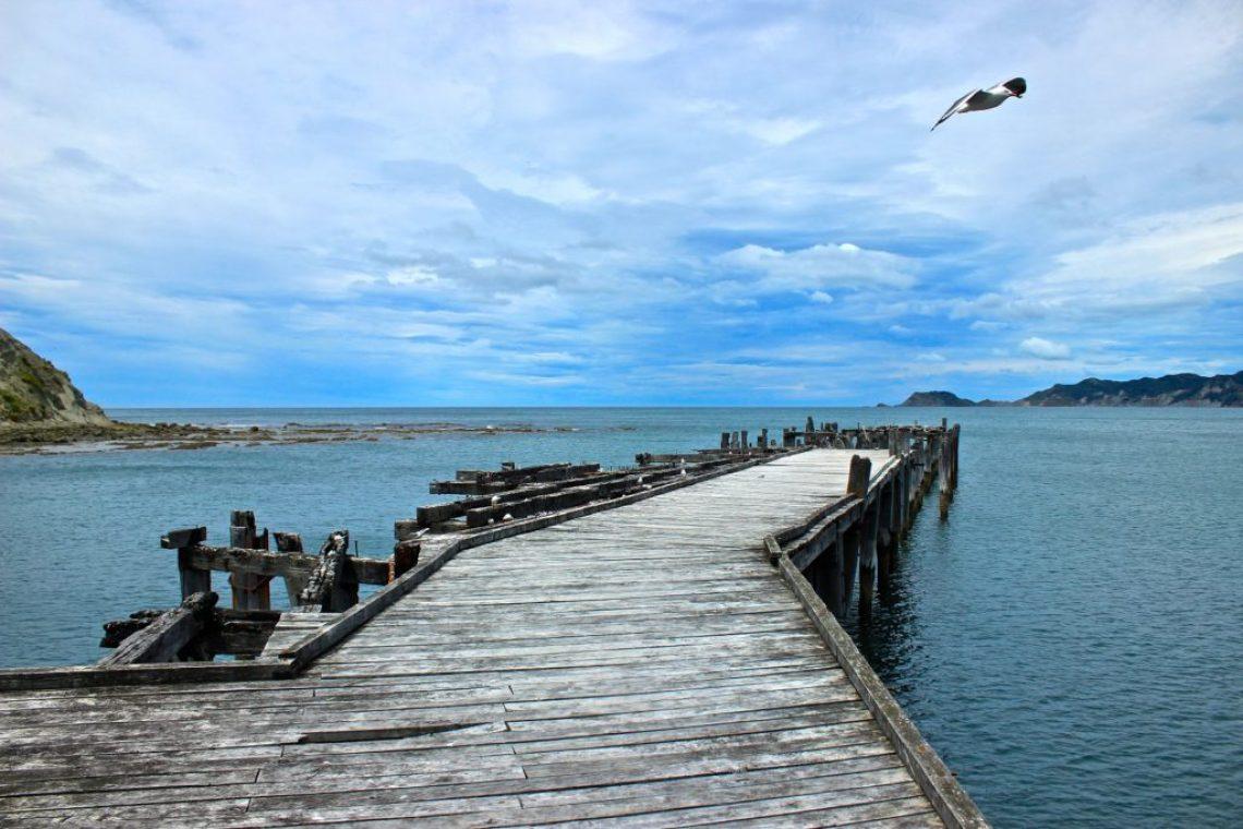 Tokomaru Wharf New Zealand