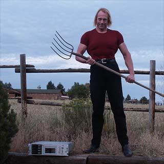 pitchfork man