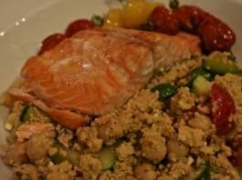Mediterranean salmon
