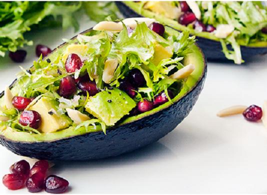 avocado spring salad