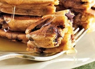 Gluten-Free Chocolate Chip Pancakes