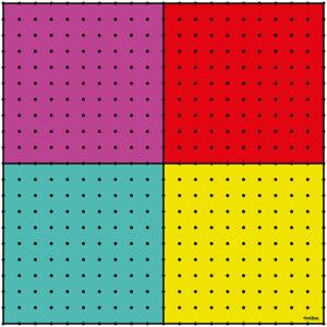 koordinatsystemet