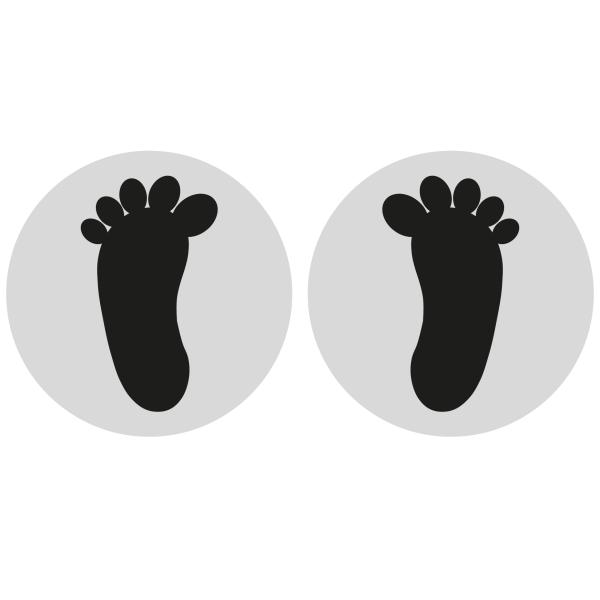 fødder i cirkel