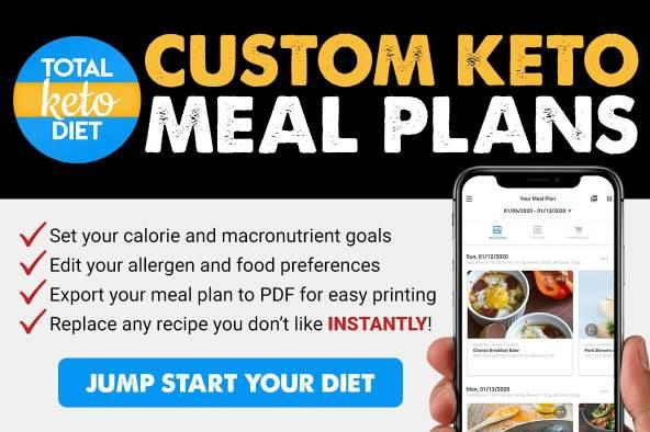 Custom Keto Meal Plans